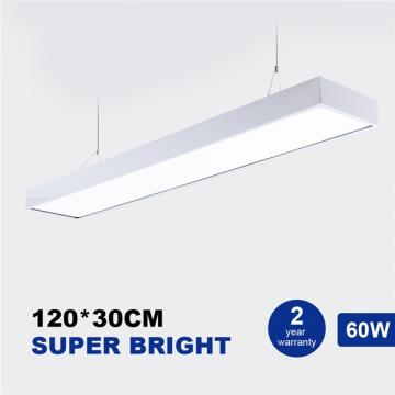 Buy Led Panel Ceiling Light 120x30cm 60w Low Profile White Body Suspended Surface Mount Ceiling Panel Drop 4000k Neutral White 6000lm Flat Panel For Residential Office Shop Lighting Shenzhen Lanbote